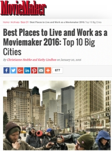 MovieMaker Best Places to Live